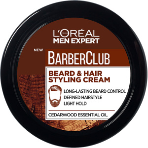 Men Expert Barber Club Beard & Hair Styling Cream 75ml