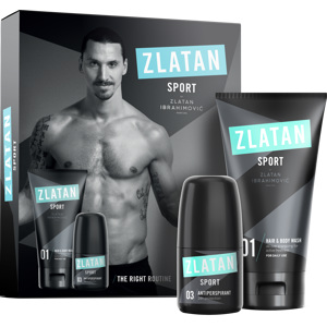 Sport Pour Homme Hair & Body Wash + Deoroll 50ml