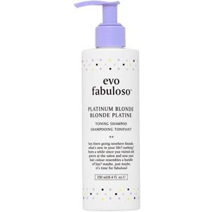 Fabuloso Platinum Blonde Toning Shampoo, 250ml